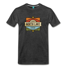 Load image into Gallery viewer, Men's North Lake T-Shirt - charcoal gray