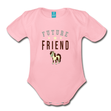 Load image into Gallery viewer, Future Friend Baby Bodysuit - light pink