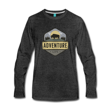 Load image into Gallery viewer, Men's Adventure Life Long Sleeve Shirt - charcoal gray