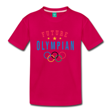 Load image into Gallery viewer, Kids' Future Olympian T-Shirt - dark pink