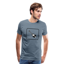 Load image into Gallery viewer, Men's Mandolin Icon T-Shirt - steel blue