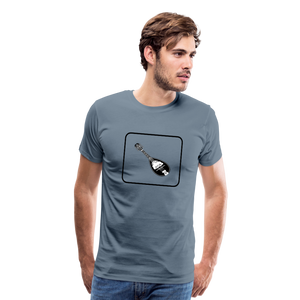 Men's Mandolin Icon T-Shirt - steel blue