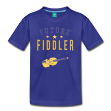 Load image into Gallery viewer, Kids' Future Fiddler T-Shirt - royal blue