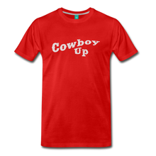 Load image into Gallery viewer, Men's Cowbou Up T-Shirt - red