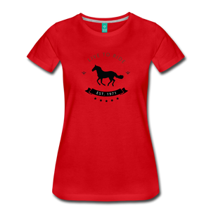 Women's Live to Ride T-Shirt - red