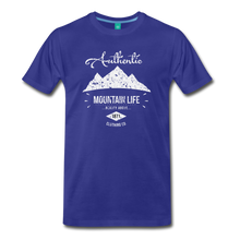 Load image into Gallery viewer, Men's Authentic Mountain Clothing Co. T-Shirt - royal blue