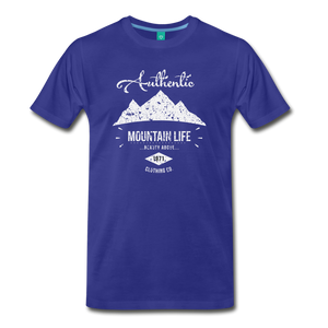 Men's Authentic Mountain Clothing Co. T-Shirt - royal blue