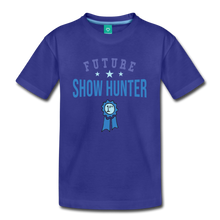 Load image into Gallery viewer, Kids' Future Show Hunter T-Shirt - royal blue