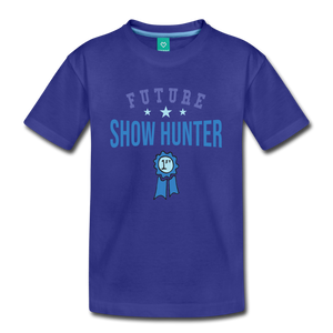 Kids' Future Show Hunter T-Shirt - royal blue