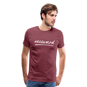 Men's Westward T-Shirt - heather burgundy