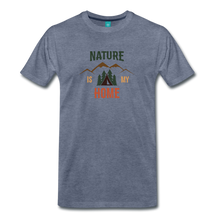 Load image into Gallery viewer, Men's Nature - heather blue