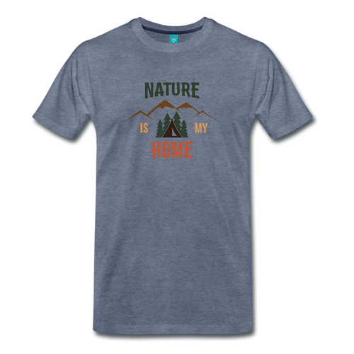 Men's Nature - heather blue