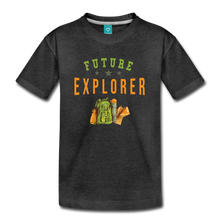 Load image into Gallery viewer, Kids' Future Explorer T-Shirt - charcoal gray