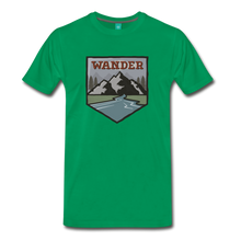 Load image into Gallery viewer, Men's Wnderer T-Shirt - kelly green