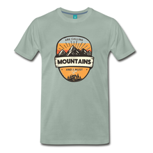 Load image into Gallery viewer, Men's Mountain's Calling T-Shirt - steel green