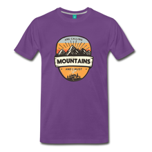 Load image into Gallery viewer, Men's Mountain's Calling T-Shirt - purple