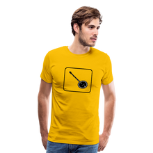 Load image into Gallery viewer, Men's Banjo Icon T-Shirt - sun yellow