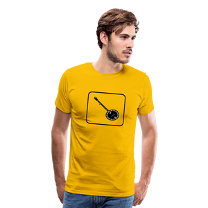 Men's Banjo Icon T-Shirt - sun yellow