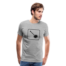 Load image into Gallery viewer, Men's Banjo Icon T-Shirt - heather gray