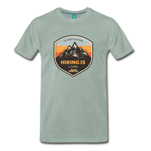 Load image into Gallery viewer, Men's Hiking T-Shirt - steel green