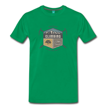 Load image into Gallery viewer, Men's Climbing T-Shirt - kelly green
