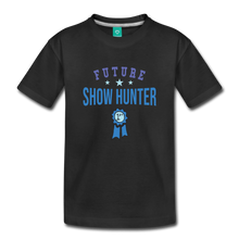 Load image into Gallery viewer, Toddler Future Show Hunter T-Shirt - black