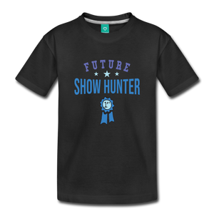 Toddler Future Show Hunter T-Shirt - black