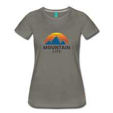 Load image into Gallery viewer, Women's Mountain Life Shirt - asphalt