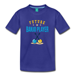 Kids' Future Banjo Player T-Shirt - royal blue