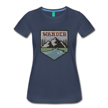 Load image into Gallery viewer, Women's Wander T-Shirt - navy