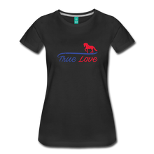 Load image into Gallery viewer, Women's True Love T-Shirt - black