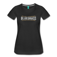 Load image into Gallery viewer, Women's Bluegrass T-Shirt - black