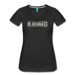 Women's Bluegrass T-Shirt - black
