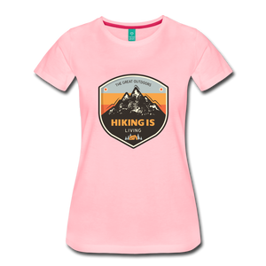 Women's Hiking T-Shirt - pink