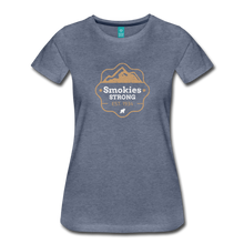 Load image into Gallery viewer, Women's Smokies Strong T-Shirt - heather blue