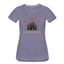 Load image into Gallery viewer, Women's Keep Calm, Camp On - washed violet