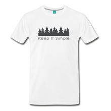 Load image into Gallery viewer, Men's Keep It Simple T-Shirt - white