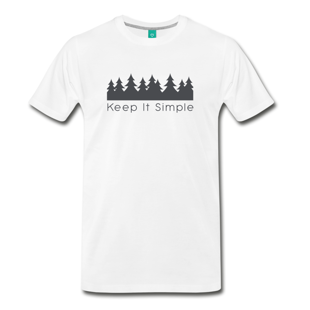 Men's Keep It Simple T-Shirt - white