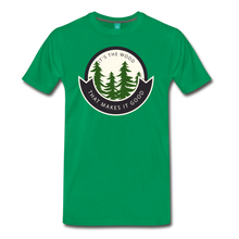 Load image into Gallery viewer, Men's Its the Wood T-Shirt - kelly green