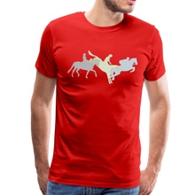 Load image into Gallery viewer, Men's Shadowed Eventing T-Shirt - red