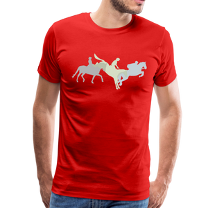 Men's Shadowed Eventing T-Shirt - red