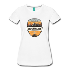 Load image into Gallery viewer, Women's Mountain's Calling T-Shirt - white