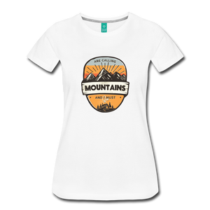 Women's Mountain's Calling T-Shirt - white