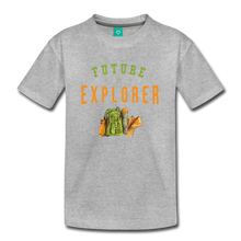 Load image into Gallery viewer, Kids' Future Explorer T-Shirt - heather gray