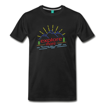 Load image into Gallery viewer, Men's Colored Explore More T-Shirt - black