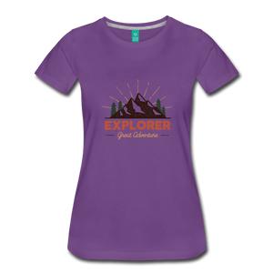 Women's Explorer - purple