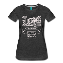 Load image into Gallery viewer, Women's Bluegrass Original T-Shirt - charcoal gray