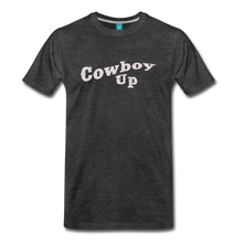 Load image into Gallery viewer, Men's Cowbou Up T-Shirt - charcoal gray