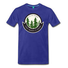 Load image into Gallery viewer, Men's Its the Wood T-Shirt - royal blue