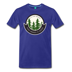 Men's Its the Wood T-Shirt - royal blue